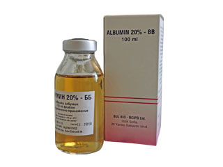 Albumin 20 % BB  solution for infusion